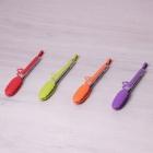 Щипцы силиконовые  с ручками из нержавеющей стали