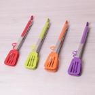 Щипцы-лопатки силиконовые  с ручками из нержавеющей стали
