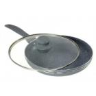 Сковорода с крышкой EDENBERG 28 см.
